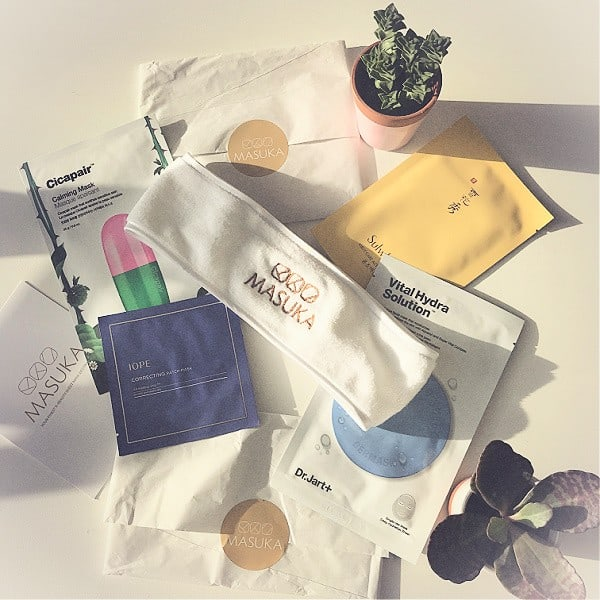 Masuka Mask K-Beauty Trail Cadeauset ©hippeshops