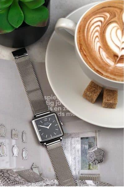 philippe constance horloge zilver zwart libra djewelz