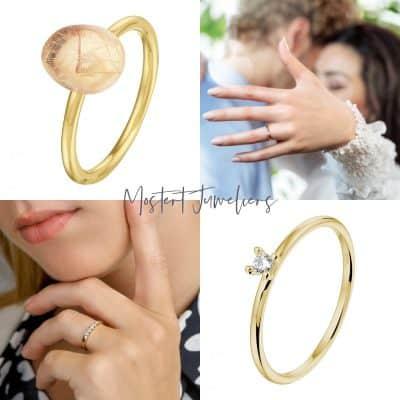 De mooiste herinneringen gevangen in een gouden ring
