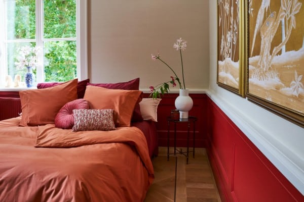 kleurrijke slaapkamer