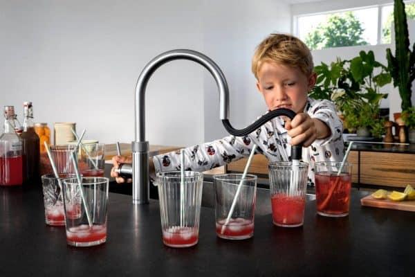 koud water tappen quooker veilig