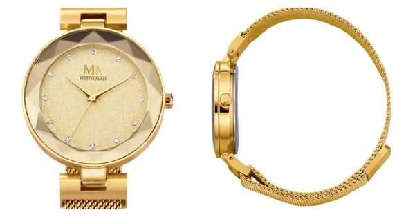 gouden horloge kerstcadeau inspiratie