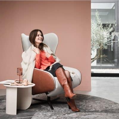 Hippe design relaxfauteuil: ultiem ontspannen met je voeten omhoog in stijl
