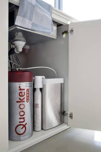 quooker keukenkastje boiler