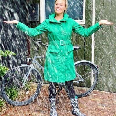 Laat het maar lekker regenen terwijl jij stylish droogblijft