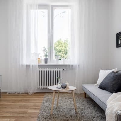 Zó richt je een lange en smalle woonkamer in