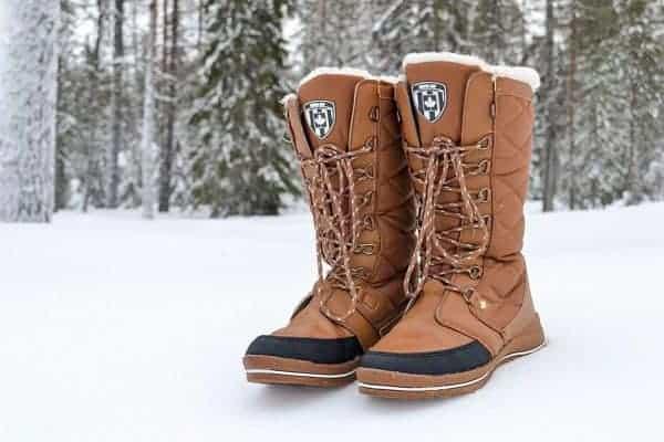 hippe snowboots Winter-grip Checkered Walker