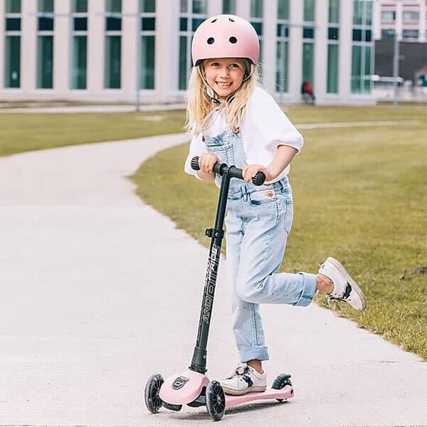buitenspelen Higwaykick 3step voor kinderen van 3 tot 6 jaar
