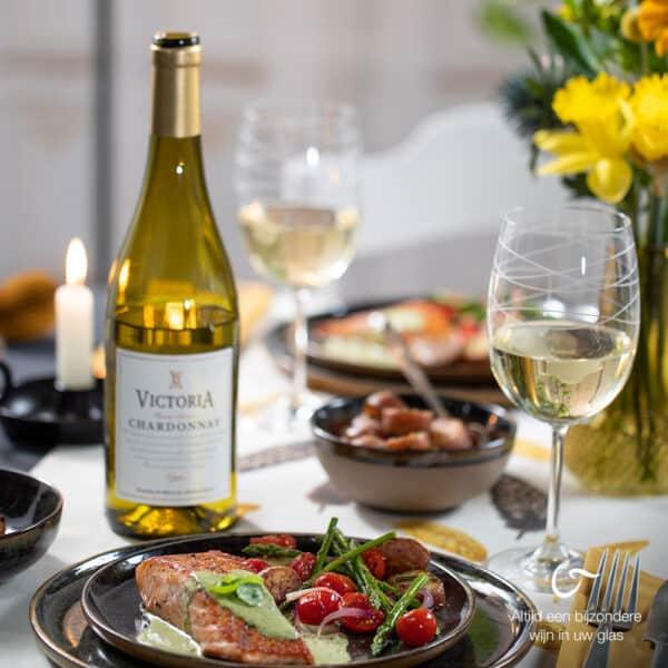 droge chardonnay witte wijn