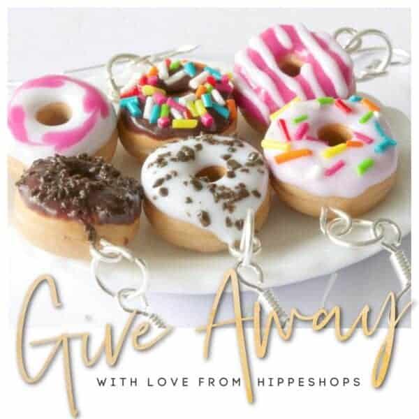 snoepsieraden sweetstuff donuts oorbellen