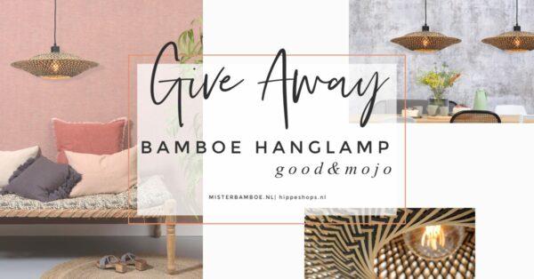 goodmojo winactie bamboe hanglamp bali