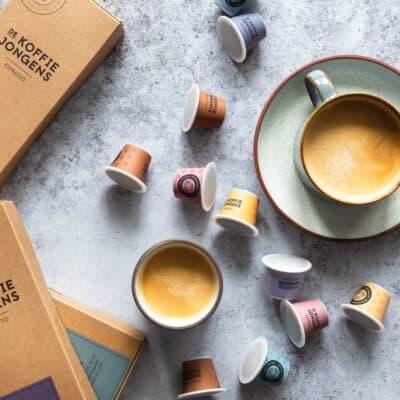 100% biologisch afbreekbare koffiecups van De Koffiejongens