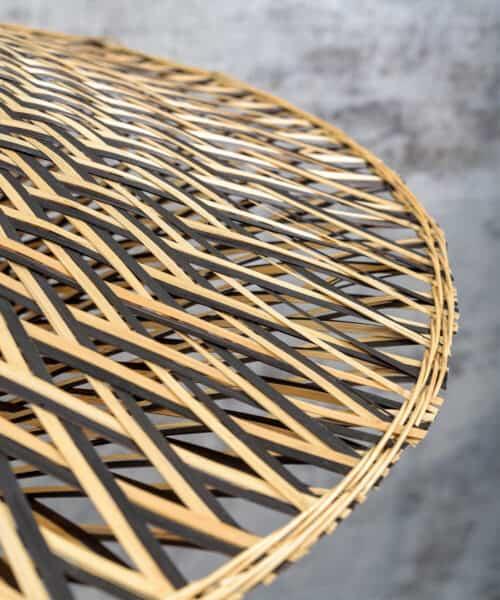 bamboeverlichting gevlochten