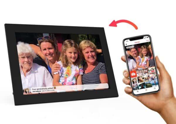 kiki & co digitale fotolijst hoe werkt het