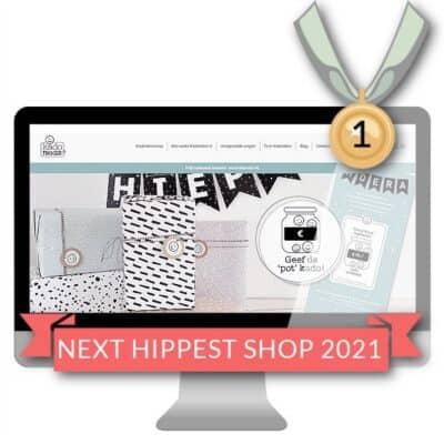 Kadotikker wint de Next Hippest Shop 2021 Webshopverkiezing Awards