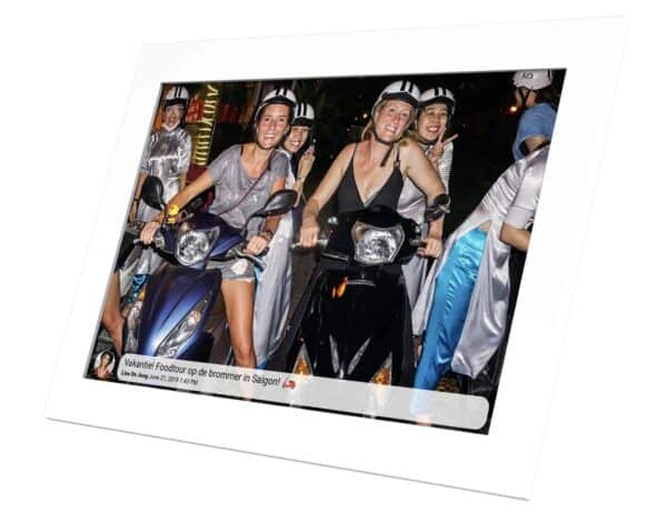 kikienco geluksmomenten delen op afstand digitale fotolijst