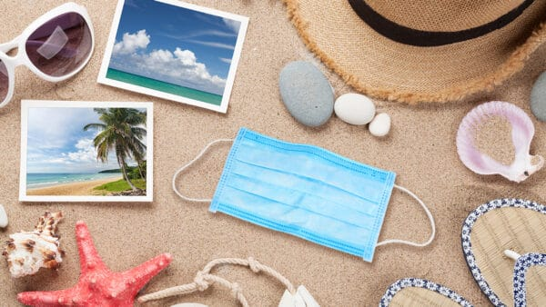 welke landen code geel vakantie reizen corona