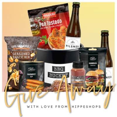 Hip gespot: Barbecue Bucket cadeau pakket met drankjes