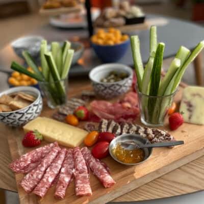 Food & Wood review: luxe borrelplank en gekoelde borrelbox