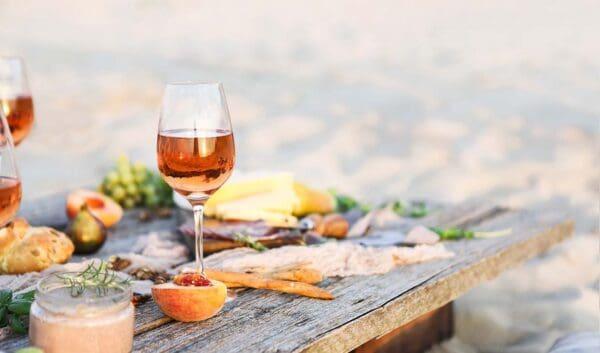 rosé welke wijn bij de barbecue gegrilde zalm