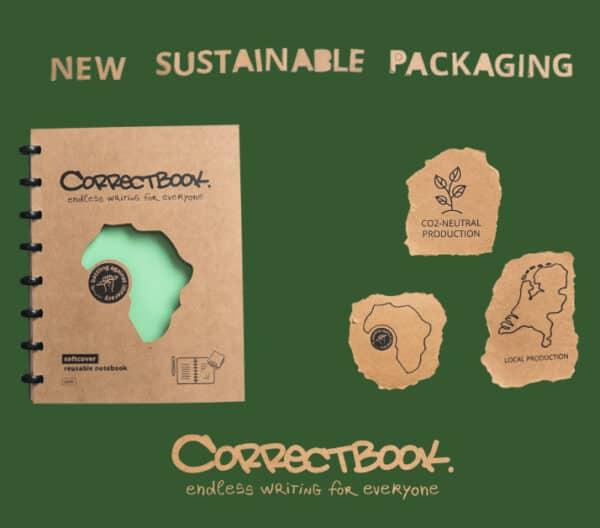 correctbook duurzame verpakking