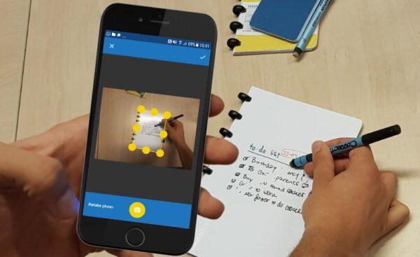 correctbook scan app uitwisbaar
