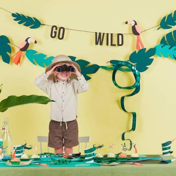 go wild kinderfeestje