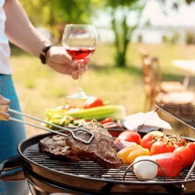 welke wijn barbecue