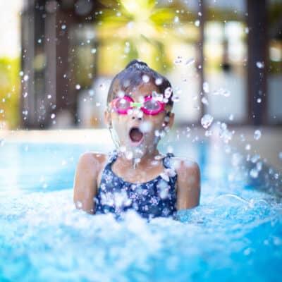 opzetzwembad tuin