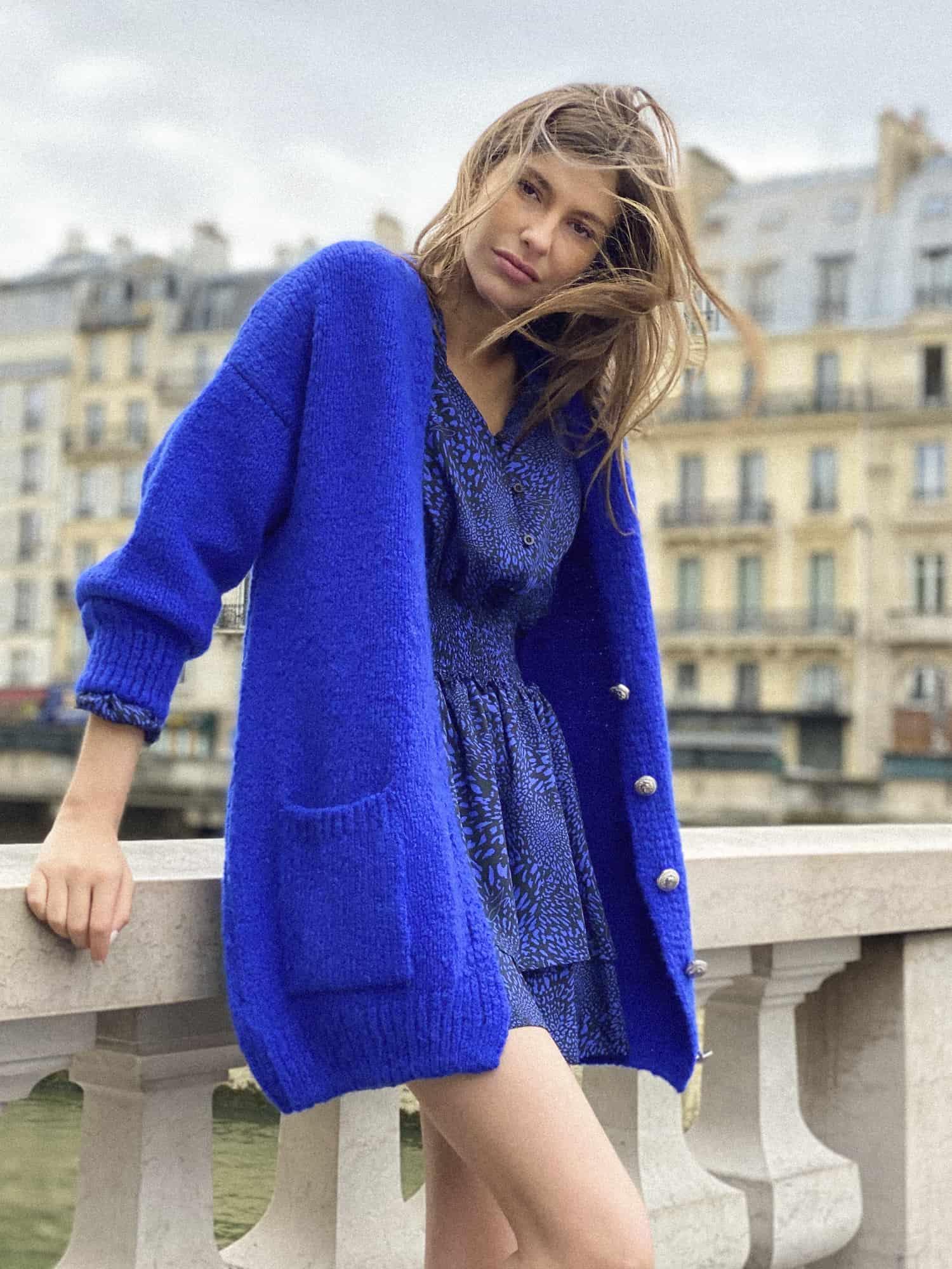 janice aw21 kobaltblauw vest