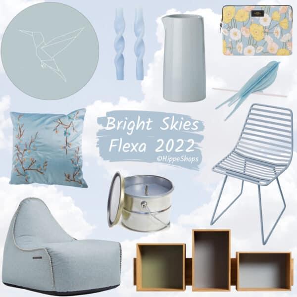 bright skies flexa 2022 kleur van het jaar