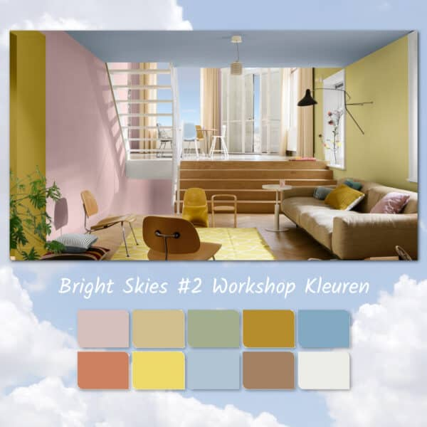 bright skies workshop kleuren