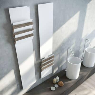 Met een design radiator breng je extra wellness in de badkamer