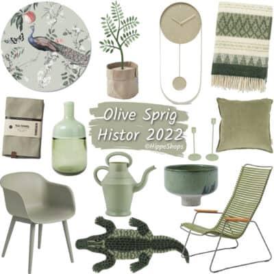 Olive Sprig is dé Histor trendkleur van het jaar 2022