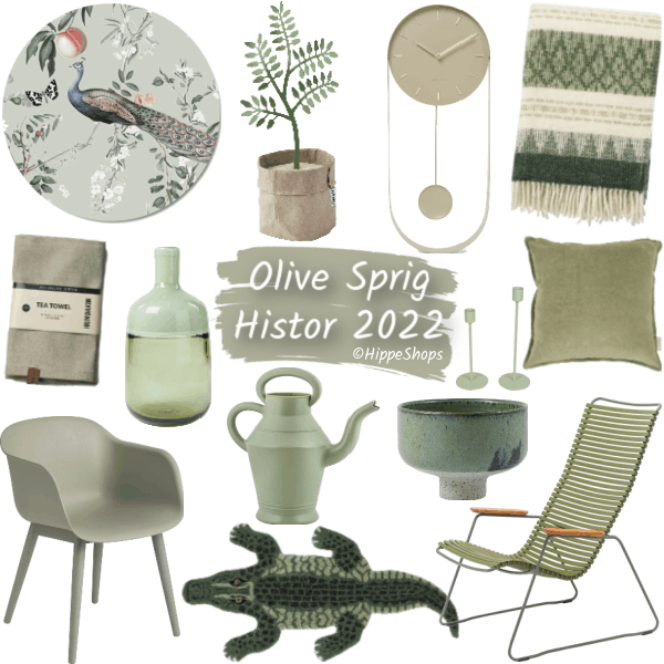 olive sprig histor kleur van het jaar 2022
