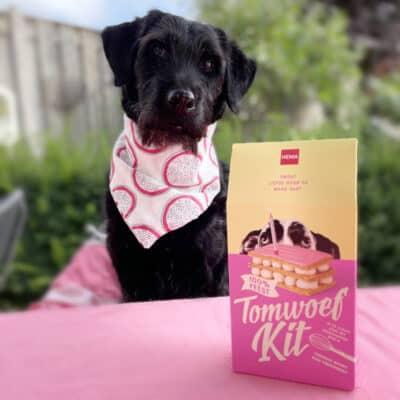 Tomwoef Kit, de Hema tompouce speciaal voor honden